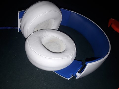 Lot 7018 SONY WIRELESS WHITE STEREO HEADSET 2.0 RRP £99.99