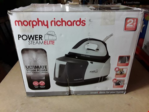 Lot 3250 MORPHY RICHARDS POWER STEAM ELITE STEAM GENERATOR IRON 332007 GREY STEAM GEN