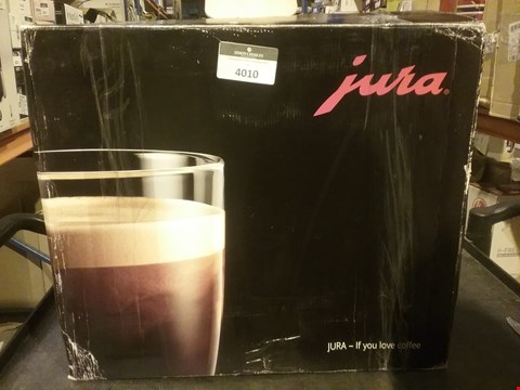 Lot 4010 JURA COFFEE MACHINE