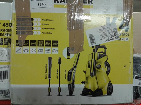 Lot 8345 KARCHER K4 FULL CONTROL HIGH PRESSURE WASHER