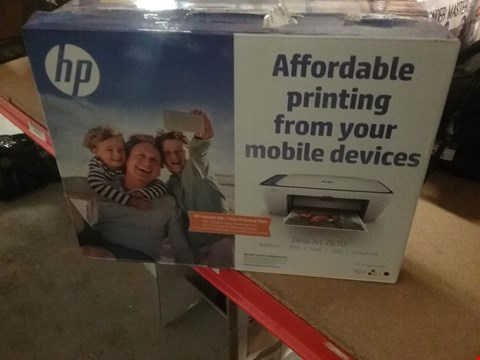 Lot 12803 HP DESKJET 2630 PRINTER