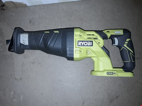 Lot 662 RYOBI R18RS-0 ONE+ 18V CORDLESS RECIPROCATING SAW (BODY ONLY)