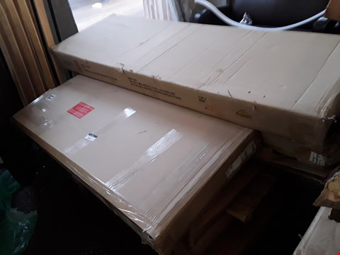 Lot 2026 LOT OF ASSORTED FLAT PACK FURNITURE PARTS TO INCLUDE WARDROBE PARTS, BED PARTS ETC