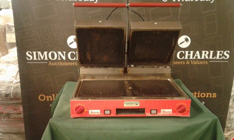 Lot 136 SIRMAN PANINI GRILL COMMERCIAL