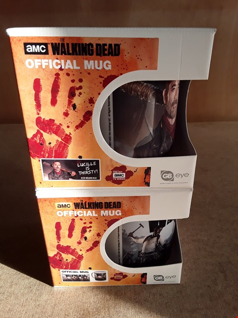 Lot 16 2 BRAND NEW BOXED THE WALKING DEAD MUGS