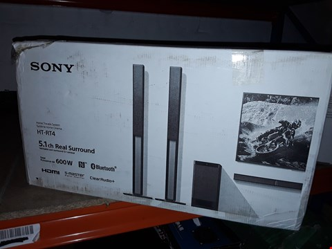 Lot 12462 SONY HOME THEATRE SYSTEM HT-RT4/HT-RT40