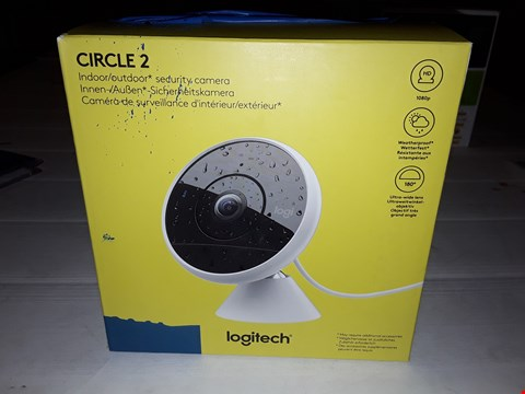 Lot 12448 LOGITECH CIRCLE 2 INDOOR SECURITY CAMERA
