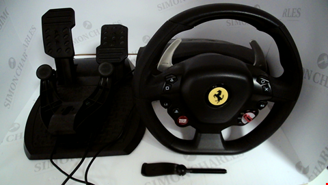 Lot 17326 THRUSTMASTER T80 FERRARI 488 GTB EDITION