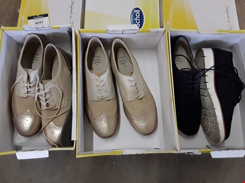 Lot 4047 3 BOXED SCHOLL VIRGINIA BROGUES - SIZES 7, 8
