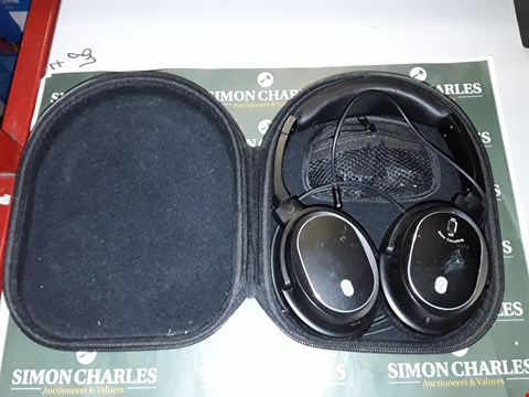 Lot 238 JUBOURY SOLACE. PRO ACTIVE NOISE CANCELLING HEADPHONES, WIRED OVER-EAR HEADPHONES