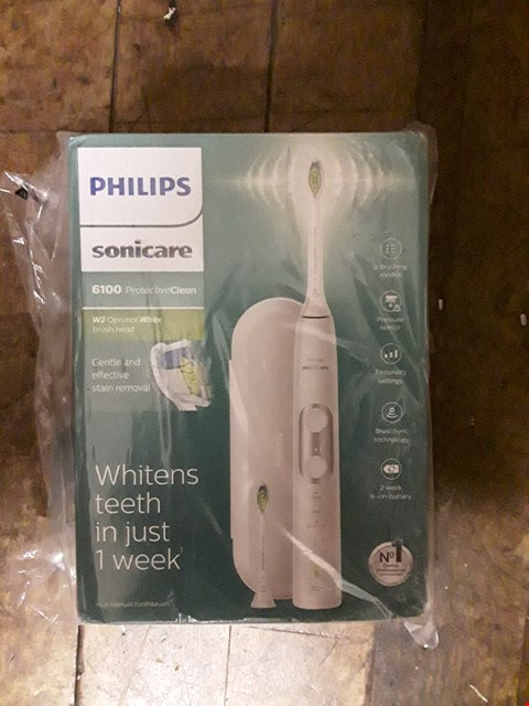 Lot 1443 BRAND NEW PHILIPS SONICARE 6100 PROTECTIVE CLEAN ELECTRIC TOOTHBRUSH  RRP £90