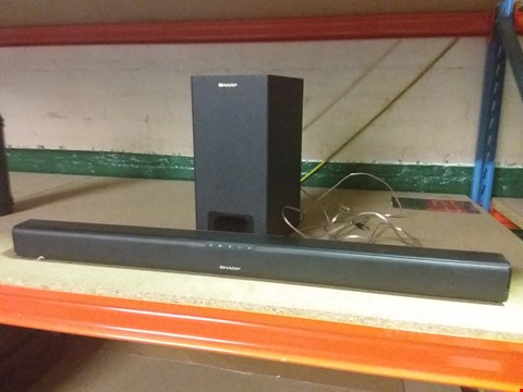 Lot 19 SHARP 2.1 SOUND BAR HOME THEATRE SYSTEM