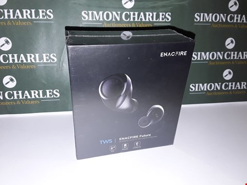 Lot 43 SEALED SET OF TWS ENACFIRE FUTURE WIRELESS EARPHONES