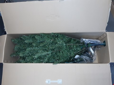 Lot 485 SANTA'S BEST 5FT FRAISER FIR CHRISTMAS TREE WITH 240 WARM WHITE LIGHTS