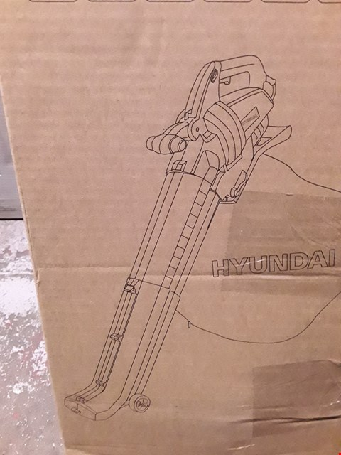Lot 5838 HYUNDAI HYBV3000E ELECTRIC LEAF BLOWER
