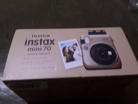 Lot 2 BOXED GRADE 1 FUJIFILM INSTAX MINI 70 CAMERA  RRP £124