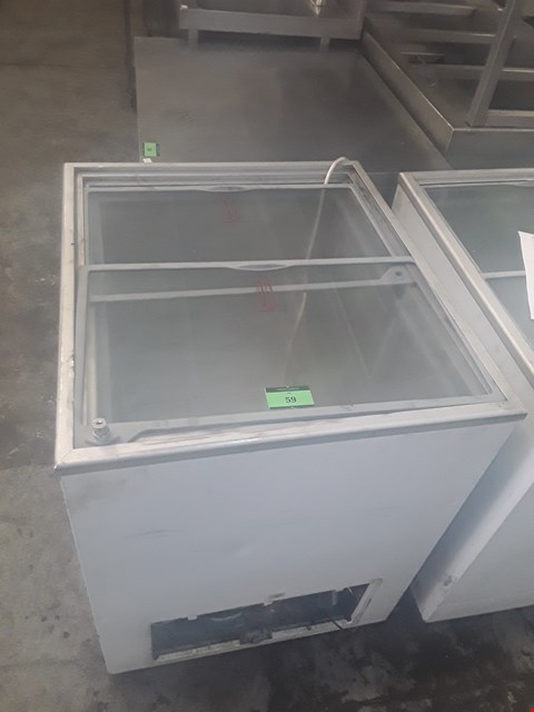 Lot 59 TEFCOLD WHITE REFRIGERATED DISPLAY UNIT