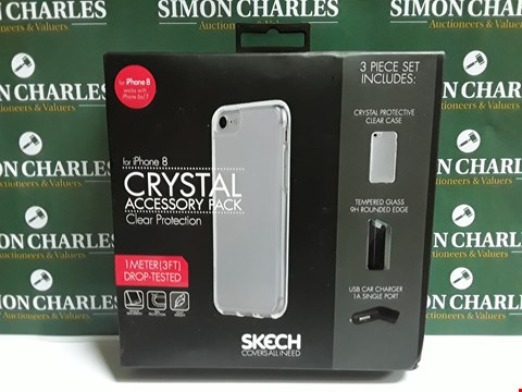 Lot 506 SKECH CRYSTAL ACCESSORY PACK FOR IPHONE 8