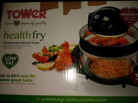 Lot 2024 TOWER HEALTH FRY 17L LOW FAT AIR FRYER