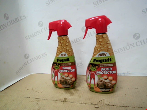 Lot 10215 FROGSUIT WOOD PROTECTOR SPRAY 2X 500ML