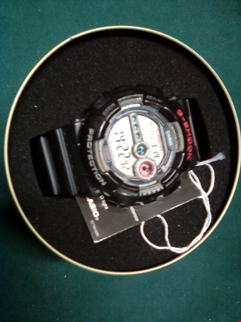 Lot 1044 BLACK CASIO GSHOCK WATCH