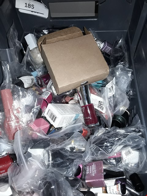 Lot 5091 Box of NAIL POLISH & gel