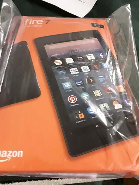 "Lot 18004 AMAZON FIRE 7 TABLET, WITH ALEXA, 7"" DISPLAY RRP £65.00"