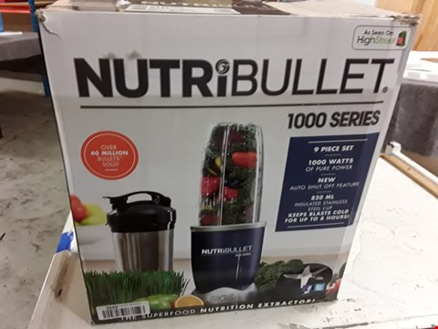 Lot 3099 NUTRIBULLET 1000 SERIES MAGIC BULLET BLENDER