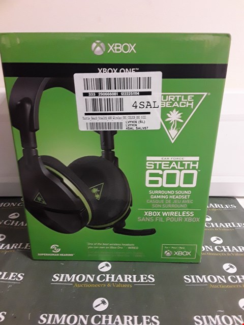 Lot 2373 TURTLE BEACH STEALTH 600 XBOX VERSION HEADSET RRP £119.99