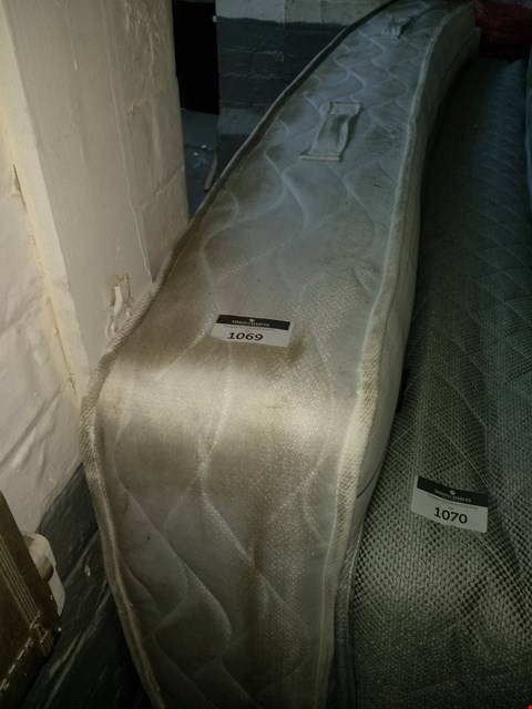 Lot 1069 QUALITY 4FT6 POCKET SPRING MATTRESS