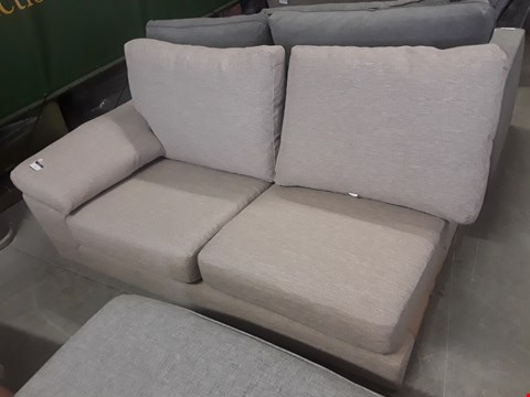 Lot 4 CROSBY NATURAL TWEED TWO SEATER SECTION
