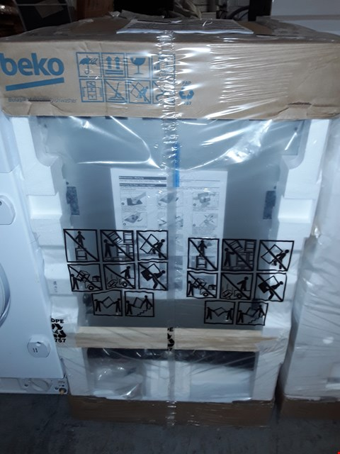 Lot 77 BEKO INTEGRATED BUILT-IN DISHWASHER RRP £238