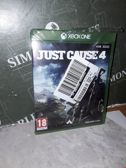 Lot 14518 JUST CAUSE 4 STANDARD EDITION - XBOX ONE RRP £23.99