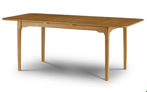 Lot 3520 BOXED IBSEN DINING TABLE - LIGHT OAK  RRP £220.00