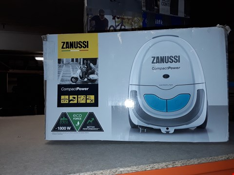 Lot 514 ZANUSSI COMPACT POWER VACUUM CLEANER