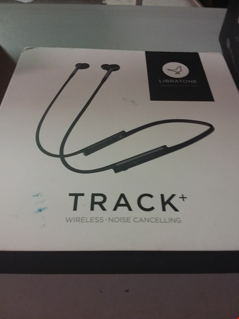 Lot 115 LIBRATONE TRACK+ WIRELESS NOISE CANCELLING IN-EAR EARPHONES, STORMY BLACK