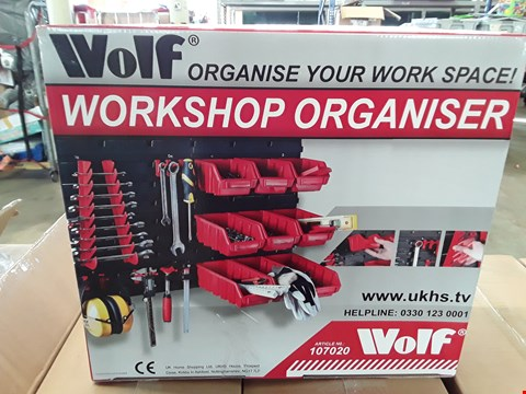 Lot 4024 WOLF WORKSHOP ORGANISER