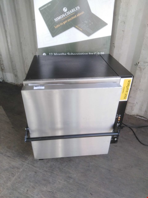 Lot 3022 BLACK ROCK 230V GRILL
