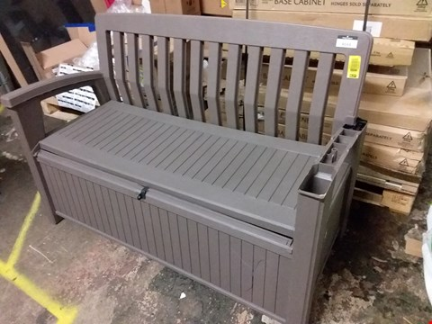 Lot 3635 BLOOMA CAROLINA GARDEN STORAGE BENCH RRP £139.00