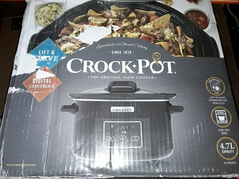 Lot 592 CROCK POT THE ORIGINAL SLOW COOKER