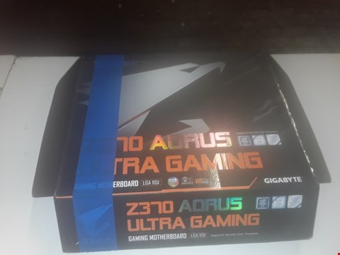 Lot 1041 BOXED AORUS Z370 ULTRA GAMING MOTHERBOARD