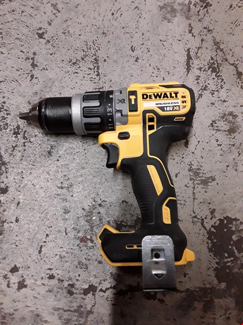 Lot 346 DEWALT DCD796N 18V XR LI-ION BRUSHLESS COMPACT COMBI HAMMER DRILL BARE UNIT