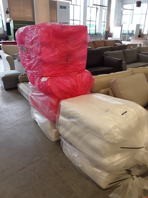 Lot 40 LOT OF 6 BAGS OF ASSORTED UN-UPHOLSTERED SOFA CUSHIONS