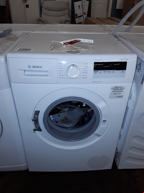 Lot 12007 BOSCH VARIO-PERFECT SERIES 4 8KG 1400 SPIN WASHING MACHINE IN WHITE - AN24108GB RRP £599.99