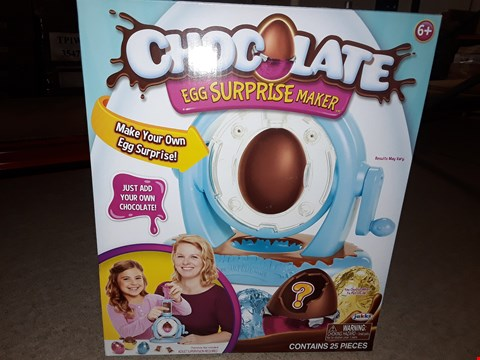 Lot 1381 BRAND NEW CHOCOLATE EGG SURPRISE MAKER