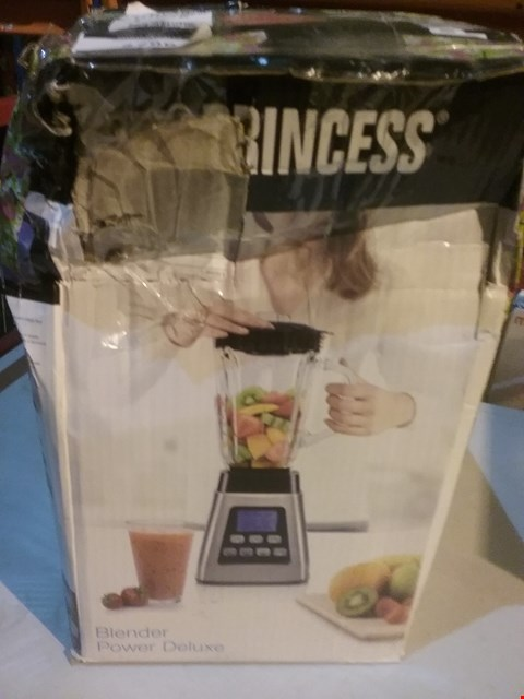 Lot 2786 PRINCESS 212071 BLENDER, STAINLESS STEEL, 1000 W, SILVER AND BLACK
