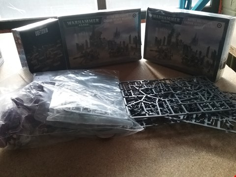 Lot 9045 5 ITEMS TO INCLUDE A ASTRA MILITARUM CADIAN HEAVY WEAPON SQUAD AND A GRETCHIN 11 CITADEL MINIATURES