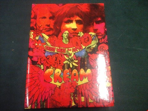 Lot 1032 CREAM THOSE WERE THE DAYS 4 CD COLLECTION