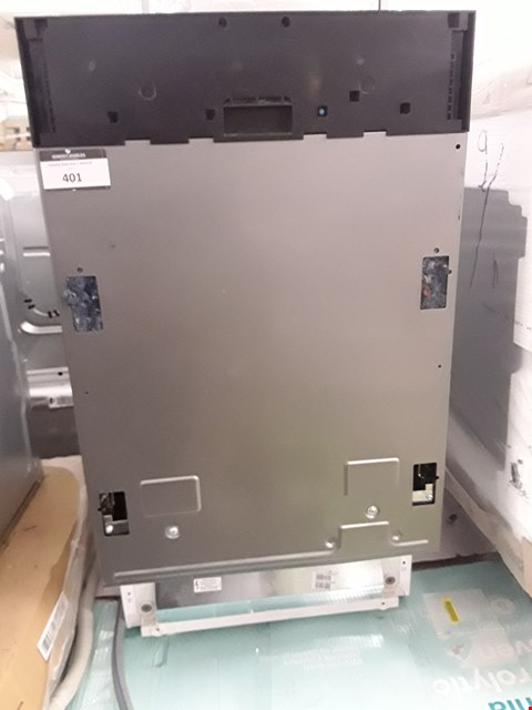 Lot 401 BEKO INTEGRATED SLIMLINE DISHWASHER