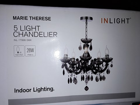 Lot 301 BOXED BRAND NEW MARIE TERESE CHANDELIER  RRP £64.99